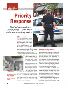 Priority Response by Steve Walker (June 2014)