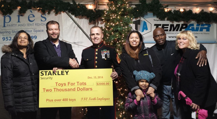 Stanley Security In The Community Giving Back Stanley