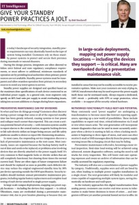 SS&I-IT-Intelligence-Article-Sept-2014-Give-Your-Standby-Power-Practices-a-Jolt