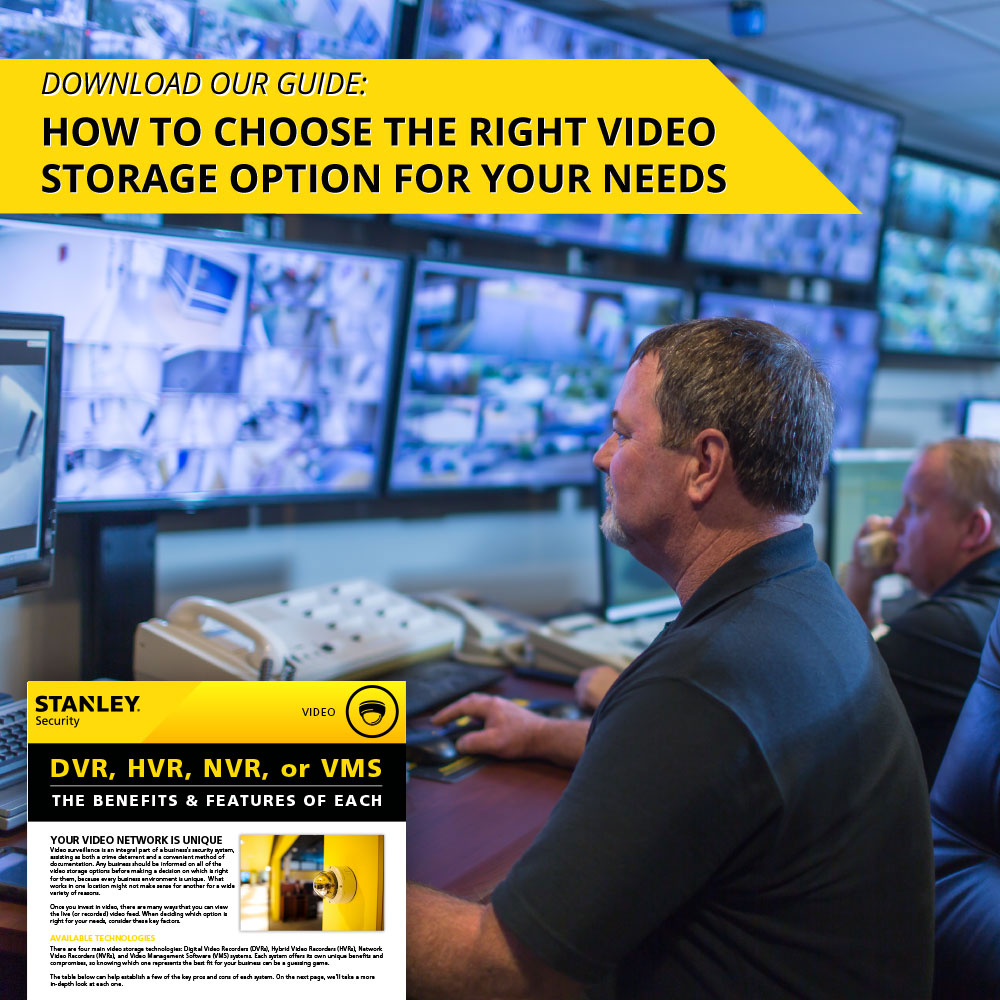 Advanced Video Surveillance Security Solutions - STANLEY Security