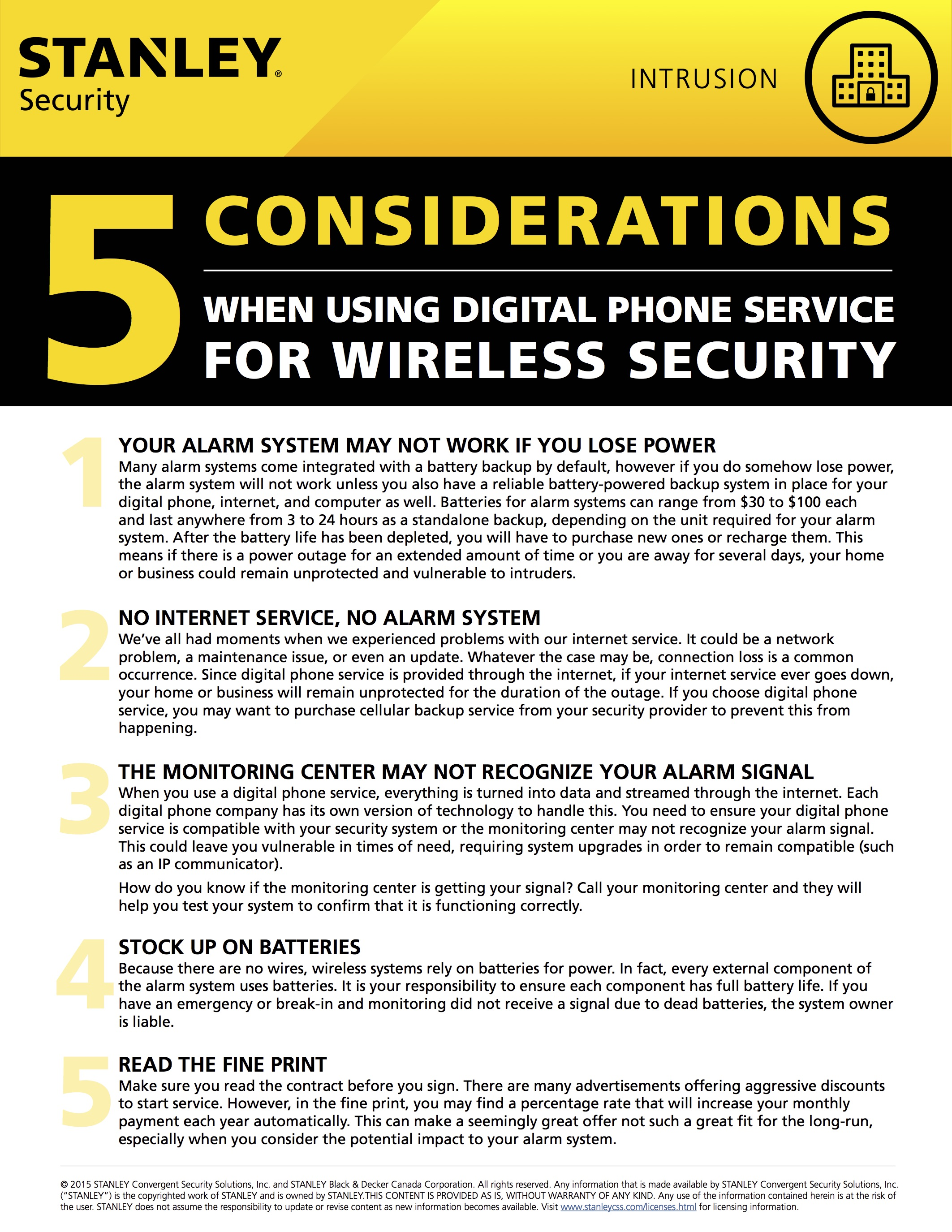 5 Considerations When Using Digital Phone Service for Wireless Security