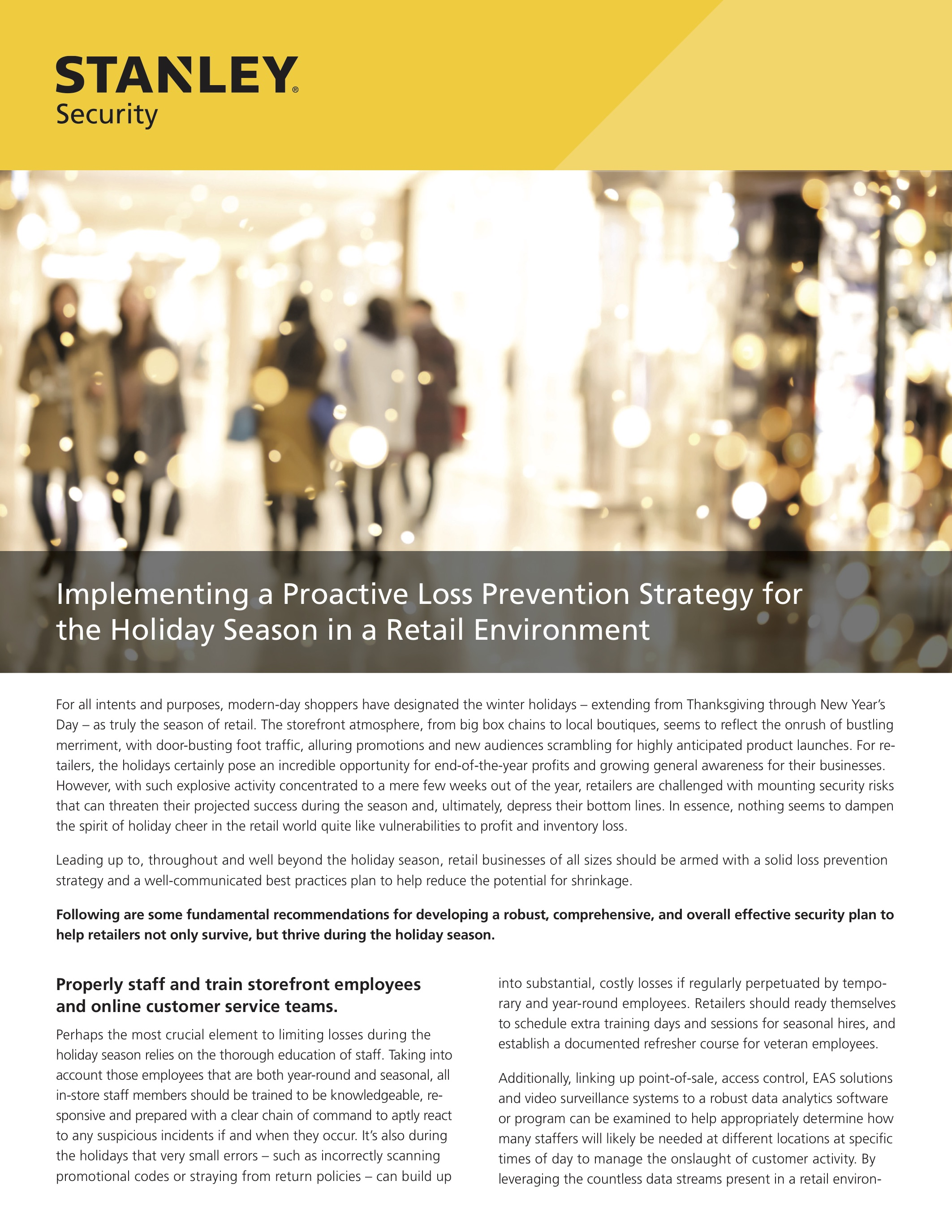 Security Resources For Continued Business Protection