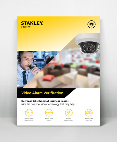 Video Alarm Verification Brochure