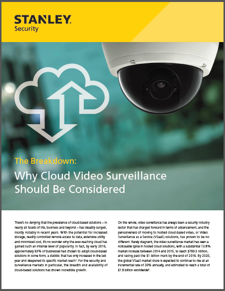Why Consider Cloud Video
