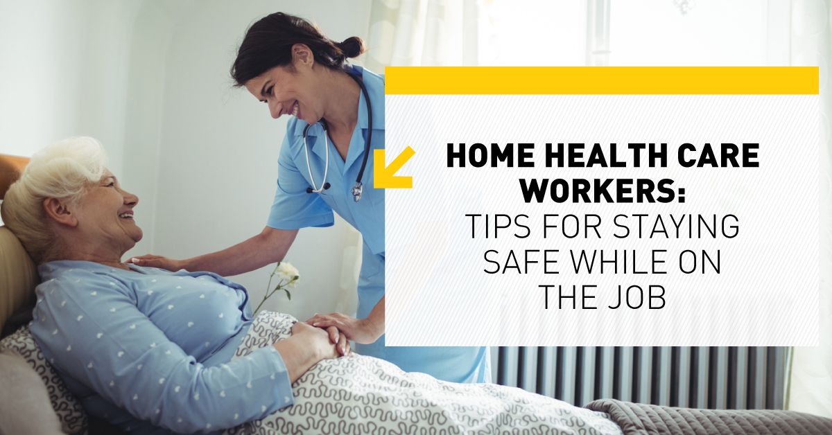home health care safety checklist