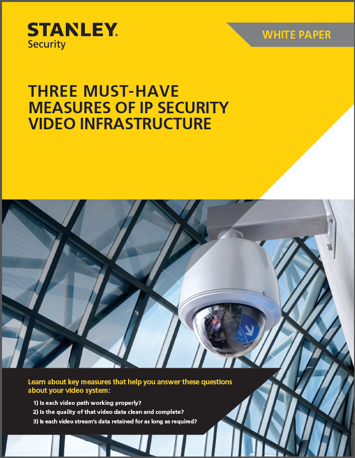 3 Must Have Measures of IP Security Video Infrastructure