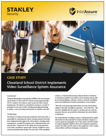 Case Study: Cleveland Schools
