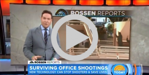 Active Shooter Detection on Today Show