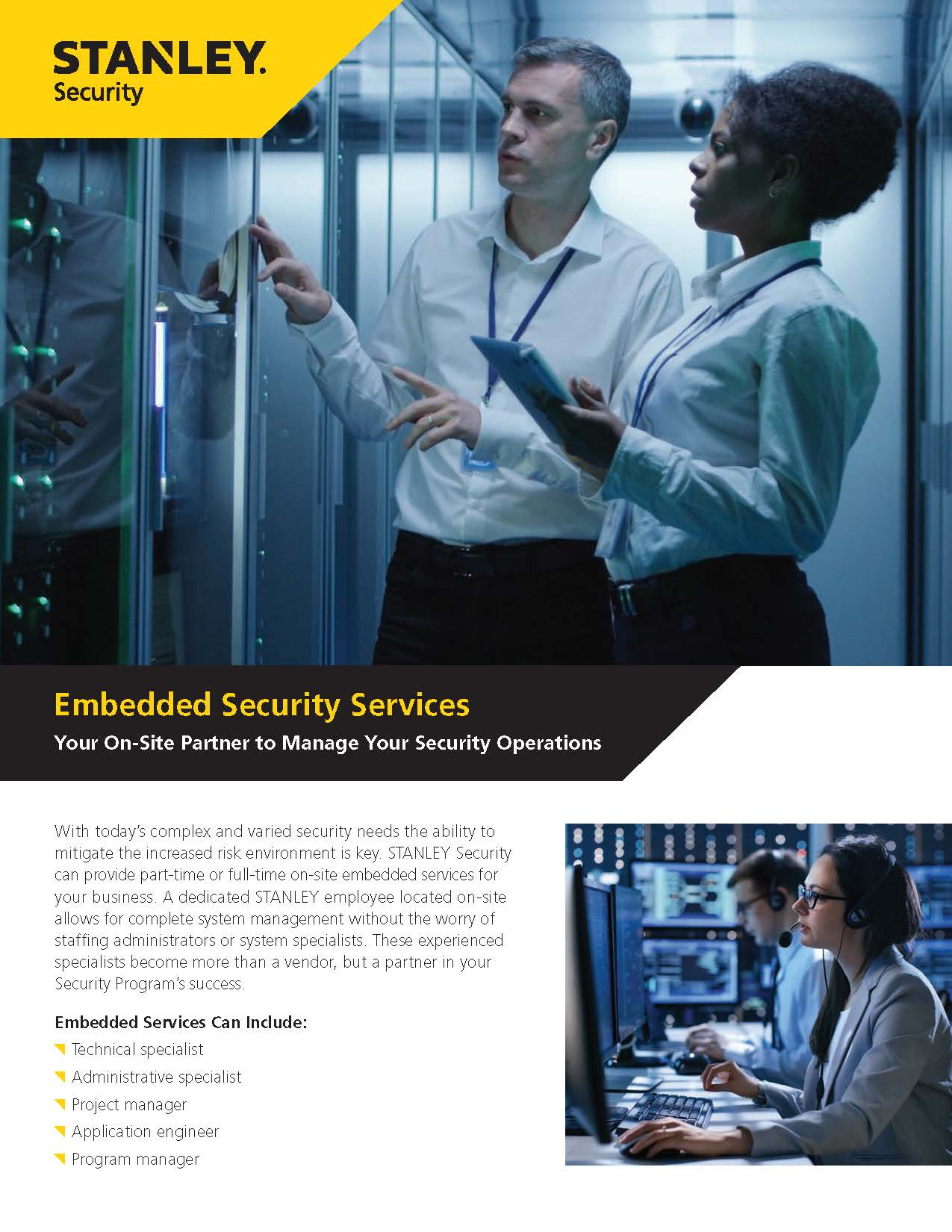 Embedded Security Services